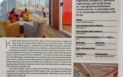 USCI Nursing School Recognized for Design